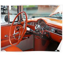 The Orange Chevy - the Interior.......! Poster