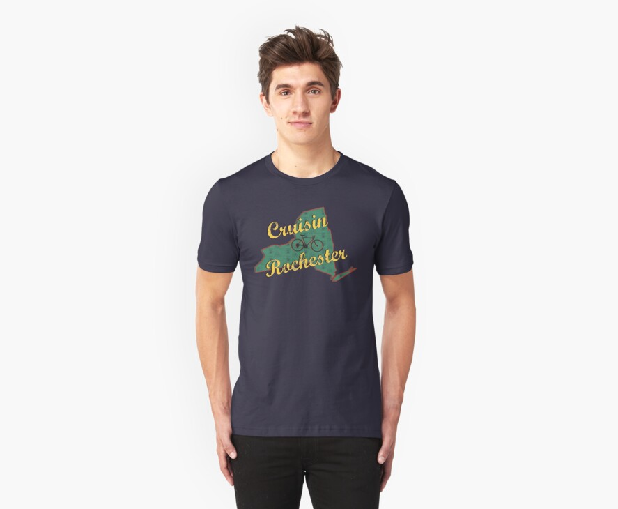 Bike Cycling Bicycle Rochester New York by SportsT-Shirts