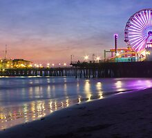 Santa Monica Pier by justaaon