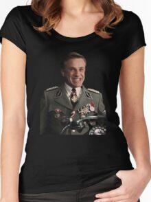 hans landa troll Women's Fitted Scoop T-Shirt