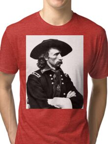 General Custer | The Wighte Collection Tri-blend T-Shirt