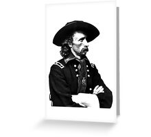 General Custer | The Wighte Collection Greeting Card