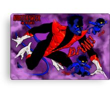 Nightcrawler and his Bamfs Canvas Print
