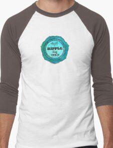 Start a Ripple Men's Baseball ¾ T-Shirt