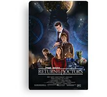 Time Wars - Return of the Doctors Canvas Print