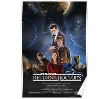 Time Wars - Return of the Doctors Poster