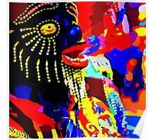 Andes Festival de Masks Poster