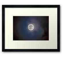 Good ole' Moon Framed Print