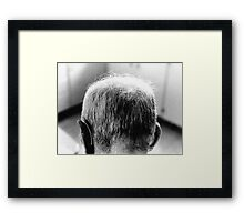 Age Sneaks Up On You  Framed Print