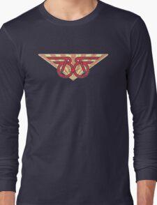 Buckaroo Banzai retro wings Long Sleeve T-Shirt