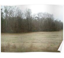 Frosty Meadow Poster
