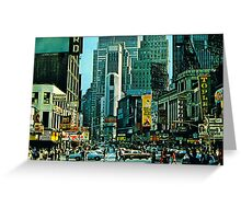 Times Square 1984 Greeting Card