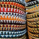 colourful Sombreros by richard  webb