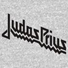 Judas Prius (black with white outline) by MuethBooth
