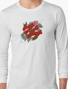 Flowers and ribbon Long Sleeve T-Shirt