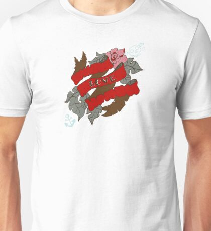 Flowers and ribbon Unisex T-Shirt