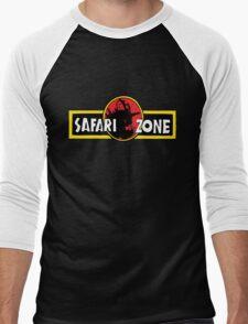 Safari zone pokemon jurassic park Men's Baseball ¾ T-Shirt