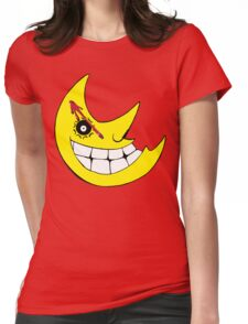 Moon from Soul eater and watchmen logo mashup Womens Fitted T-Shirt