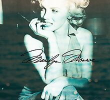 Marilyn Monroe  by chaserpatton