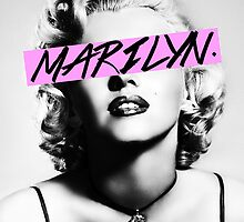 Marilyn. by Chase Patton