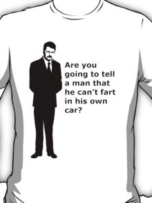 """swanson - quote"" T-Shirt"
