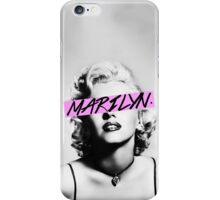 Marilyn. iPhone Case/Skin
