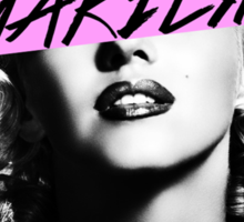 Marilyn. Sticker