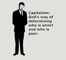 """Swanson, capitalism - quote"" Unisex T-Shirt"