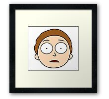 Hey Morty! Framed Print