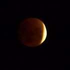 Lunar Eclipse over Gippsland Australia by Bev Pascoe