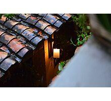 Light In Rain Photographic Print