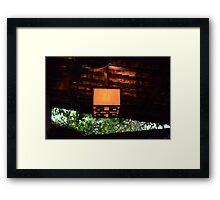 Look Out Framed Print