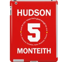 Cory Monteith Tribute - White iPad Case/Skin