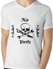 Steampunk Air Pirate Shirt Mens V-Neck T-Shirt