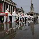 Oh So London - Rain, Puddles and Reflections by Georgia Mizuleva