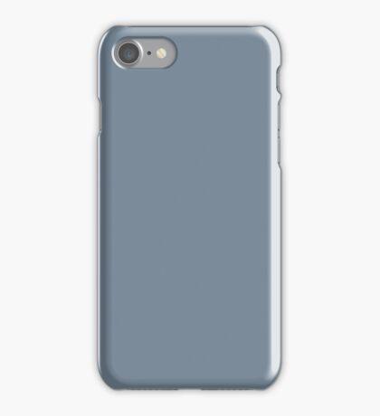 PURE COLOR-Light Slate Gray iPhone Case/Skin