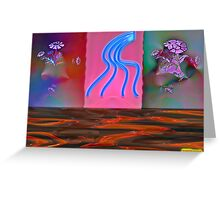 My Hot Sweets, The Flaming Dancers Greeting Card
