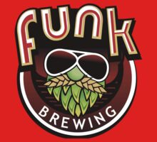 Funk Brewing company t-shirt Kids Tee