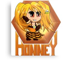 Honneyplay Chibi Metal Print
