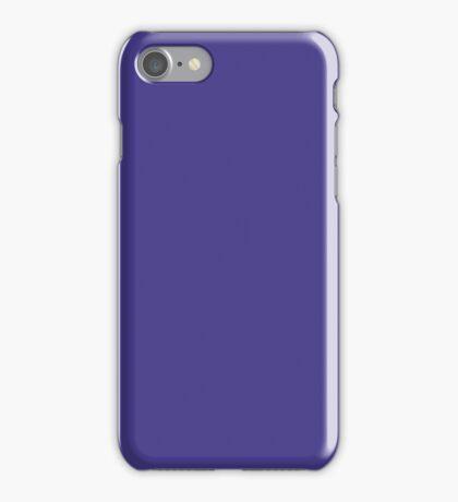 PURE COLOR-Dark Slate Blue iPhone Case/Skin
