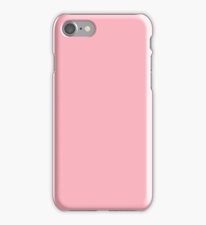 PURE COLOR-LIGHT PINK iPhone Case/Skin