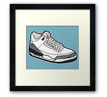 Jordan 3 Framed Print