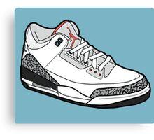 Jordan 3 Canvas Print