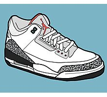Jordan 3 Photographic Print