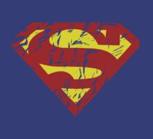 superman distressed by tyvansant