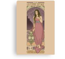 The Fallen Woman Canvas Print