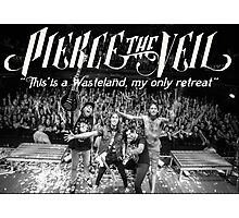 Pierce The Veil - Hell Above Live Performance Poster Photographic Print