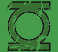Green Lantern Distressed by tyvansant