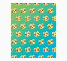 Crown Emoji Pattern Blue and Green Classic T-Shirt