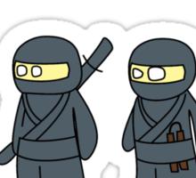 Not Proper Ninja Attire Sticker